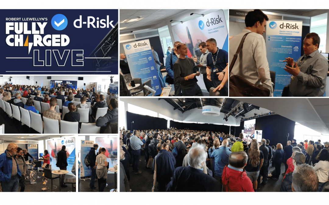 d-Risk attended Fully Charged Live!